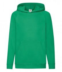 Image 7 of Fruit of the Loom Kids Lightweight Hooded Sweatshirt