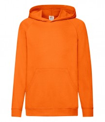 Image 6 of Fruit of the Loom Kids Lightweight Hooded Sweatshirt