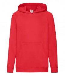 Image 4 of Fruit of the Loom Kids Lightweight Hooded Sweatshirt