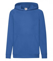 Image 3 of Fruit of the Loom Kids Lightweight Hooded Sweatshirt