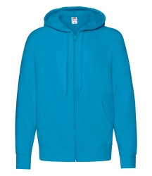 Fruit of the Loom Lightweight Zip Hooded Sweatshirt image