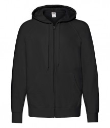 Image 7 of Fruit of the Loom Lightweight Zip Hooded Sweatshirt