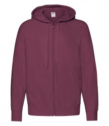 Image 9 of Fruit of the Loom Lightweight Zip Hooded Sweatshirt
