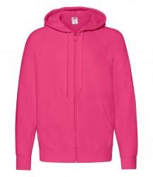 Image 5 of Fruit of the Loom Lightweight Zip Hooded Sweatshirt