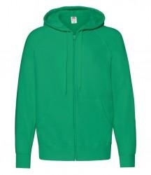 Image 11 of Fruit of the Loom Lightweight Zip Hooded Sweatshirt