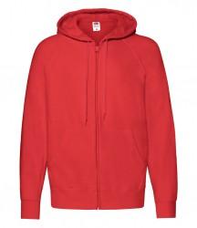 Image 3 of Fruit of the Loom Lightweight Zip Hooded Sweatshirt