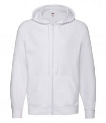 Image 2 of Fruit of the Loom Lightweight Zip Hooded Sweatshirt