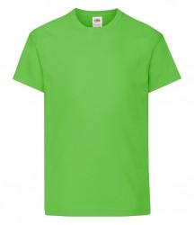 Image 9 of Fruit of the Loom Kids Original T-Shirt