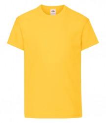 Image 20 of Fruit of the Loom Kids Original T-Shirt