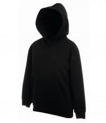 Image 3 of Fruit of the Loom Kids Classic Hooded Sweatshirt