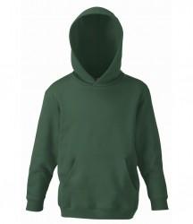 Image 4 of Fruit of the Loom Kids Classic Hooded Sweatshirt