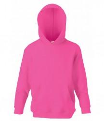Image 7 of Fruit of the Loom Kids Classic Hooded Sweatshirt