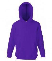 Image 16 of Fruit of the Loom Kids Classic Hooded Sweatshirt