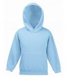 Image 19 of Fruit of the Loom Kids Classic Hooded Sweatshirt