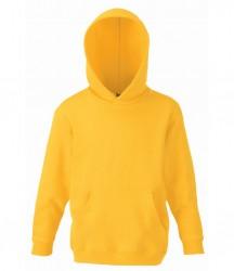 Image 20 of Fruit of the Loom Kids Classic Hooded Sweatshirt
