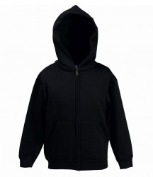 Image 3 of Fruit of the Loom Kids Classic Zip Hooded Sweatshirt