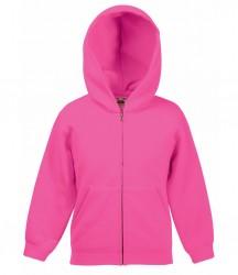 Image 7 of Fruit of the Loom Kids Classic Zip Hooded Sweatshirt