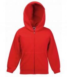Image 9 of Fruit of the Loom Kids Classic Zip Hooded Sweatshirt