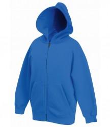 Image 10 of Fruit of the Loom Kids Classic Zip Hooded Sweatshirt