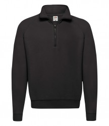 Fruit of the Loom Classic Zip Neck Sweatshirt image