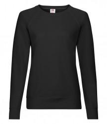 Image 4 of Fruit of the Loom Lady Fit Lightweight Raglan Sweatshirt