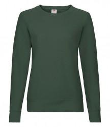 Image 2 of Fruit of the Loom Lady Fit Lightweight Raglan Sweatshirt