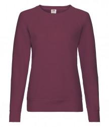 Image 5 of Fruit of the Loom Lady Fit Lightweight Raglan Sweatshirt