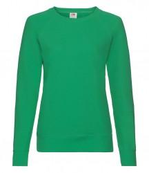 Image 12 of Fruit of the Loom Lady Fit Lightweight Raglan Sweatshirt