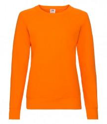 Image 7 of Fruit of the Loom Lady Fit Lightweight Raglan Sweatshirt