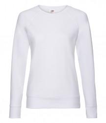 Image 9 of Fruit of the Loom Lady Fit Lightweight Raglan Sweatshirt