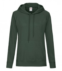 Image 4 of Fruit of the Loom Lady Fit Lightweight Hooded Sweatshirt