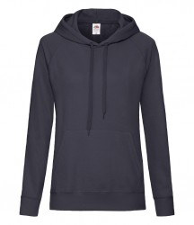 Image 6 of Fruit of the Loom Lady Fit Lightweight Hooded Sweatshirt