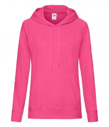 Image 7 of Fruit of the Loom Lady Fit Lightweight Hooded Sweatshirt