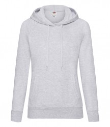 Image 8 of Fruit of the Loom Lady Fit Lightweight Hooded Sweatshirt