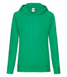 Image 9 of Fruit of the Loom Lady Fit Lightweight Hooded Sweatshirt