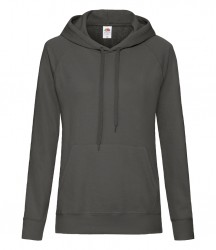 Image 10 of Fruit of the Loom Lady Fit Lightweight Hooded Sweatshirt