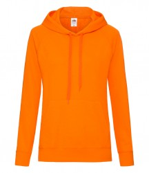 Image 11 of Fruit of the Loom Lady Fit Lightweight Hooded Sweatshirt