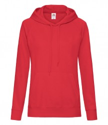 Image 12 of Fruit of the Loom Lady Fit Lightweight Hooded Sweatshirt
