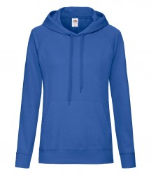 Image 13 of Fruit of the Loom Lady Fit Lightweight Hooded Sweatshirt