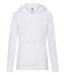 Image 14 of Fruit of the Loom Lady Fit Lightweight Hooded Sweatshirt