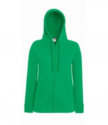Image 7 of Fruit of the Loom Lady Fit Lightweight Zip Hooded Sweatshirt
