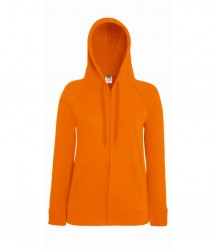 Image 9 of Fruit of the Loom Lady Fit Lightweight Zip Hooded Sweatshirt