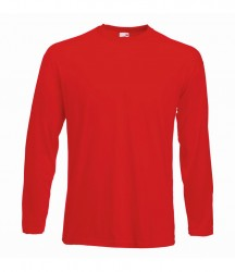 Image 8 of Fruit of the Loom Long Sleeve Value T-Shirt