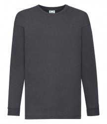 Image 3 of Fruit of the Loom Kids Long Sleeve Value T-shirt