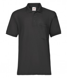 Image 2 of Fruit of the Loom Pocket Piqué Polo Shirt