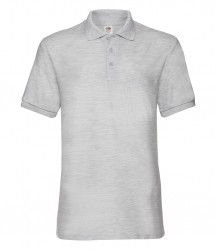 Image 3 of Fruit of the Loom Pocket Piqué Polo Shirt