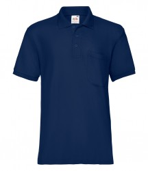 Image 4 of Fruit of the Loom Pocket Piqué Polo Shirt