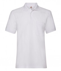 Image 7 of Fruit of the Loom Pocket Piqué Polo Shirt