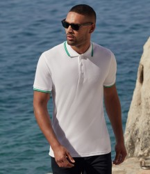 Fruit of the Loom Premium Tipped Cotton Piqué Polo Shirt image