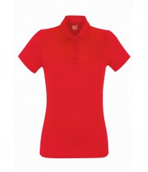 Image 4 of Fruit of the Loom Lady Fit Performance Polo Shirt